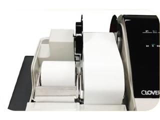 JET-M1200R 軽減税率対応レジスターは2シートタイプのプリンタ