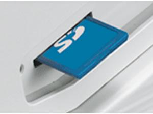 XE-A147 SDカードにデータ保存