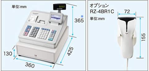 XE-A407 寸法図